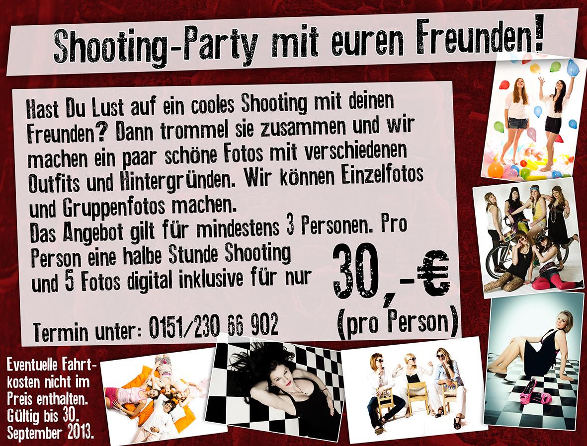 Neues Angebot Shooting Party Mit Euren Freunden Allround Photography