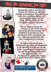 Flyer Rückseite Kinder Fotoaktion Internet