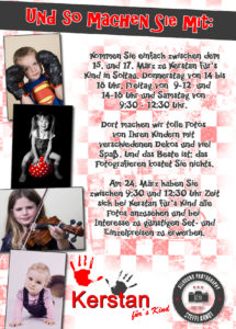 Flyer Rückseite Kinder Fotoaktion